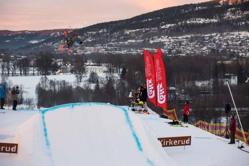 PARK: Kirkerudbakken har vært hjemanlegget til en rekke gode skikjørere og snowboardere. Foto: Andreas Løve Storm Fausko