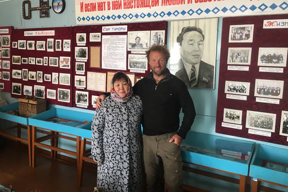 Kjartan Bergsvåg i Sibir
