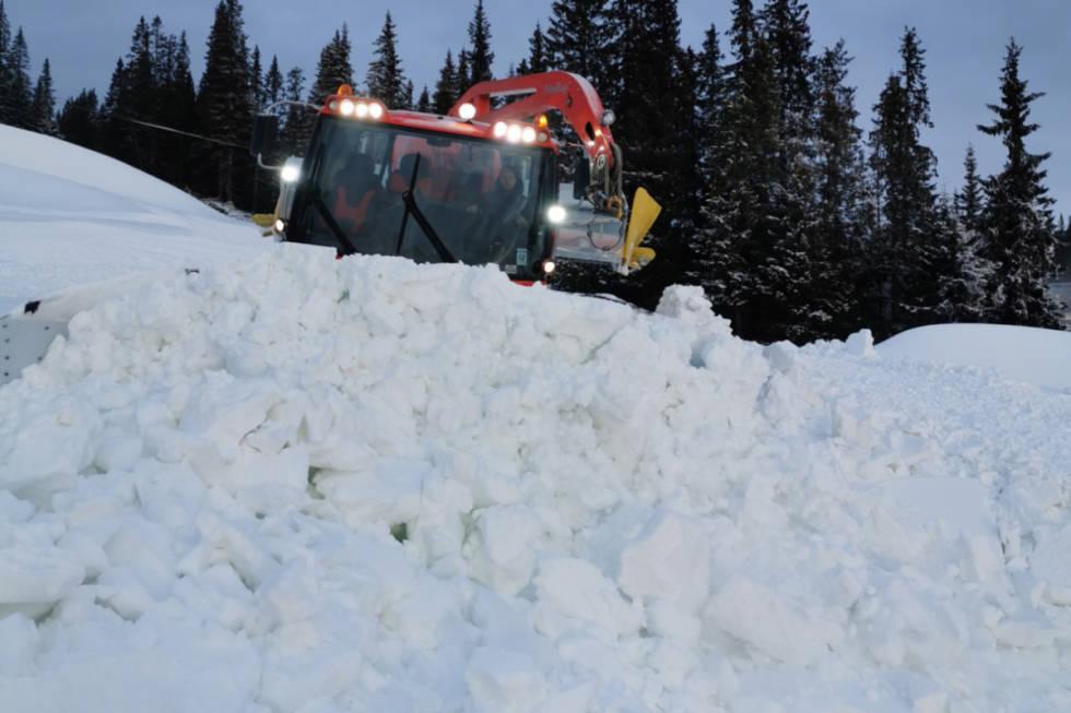 ÅPNER FREDAG: Kvitfjell åpner skiheisen fredag denne uka. Foto: Camilla R. Fjellvang