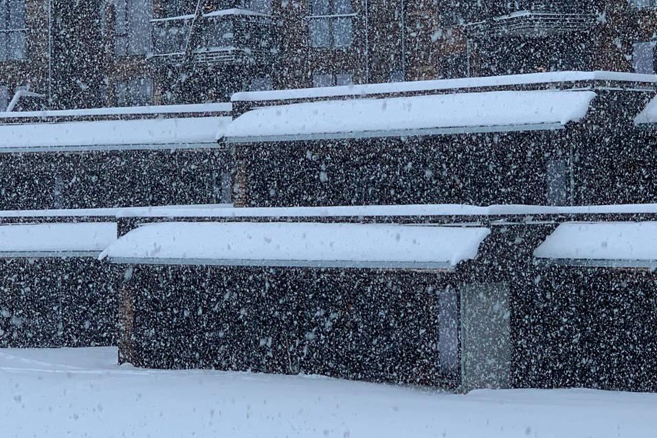 NOREFJELL: Slik så det ut på Norefjell mandag. Foto: Norefjell skisenter