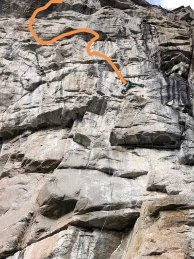 Ouish Hvarnes klatring
