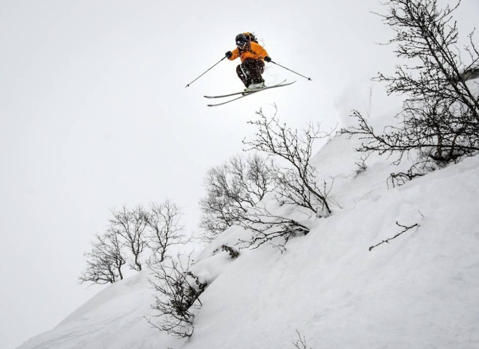 FRIKJØRING: Raulandsfjell tilbyr god frikjøring når det er rikelig med snø. Foto: Magnus Tjønn