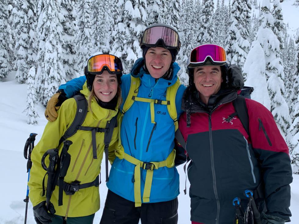 Greg Hill, Robert Aaring og Heidi Aaring.