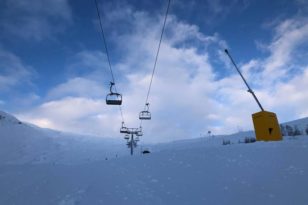 Røldal skisenter åpner for sesongen.