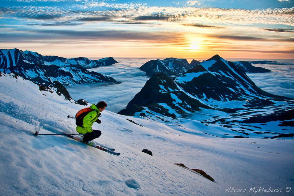 Vårskikjøring i Romsdalen