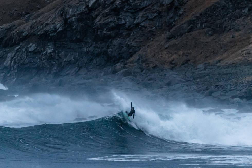 Shannon Ainslie i Lofoten