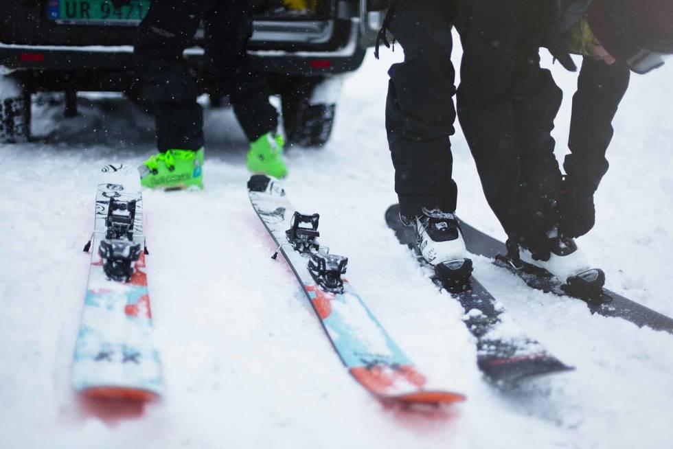 To par ski testes.