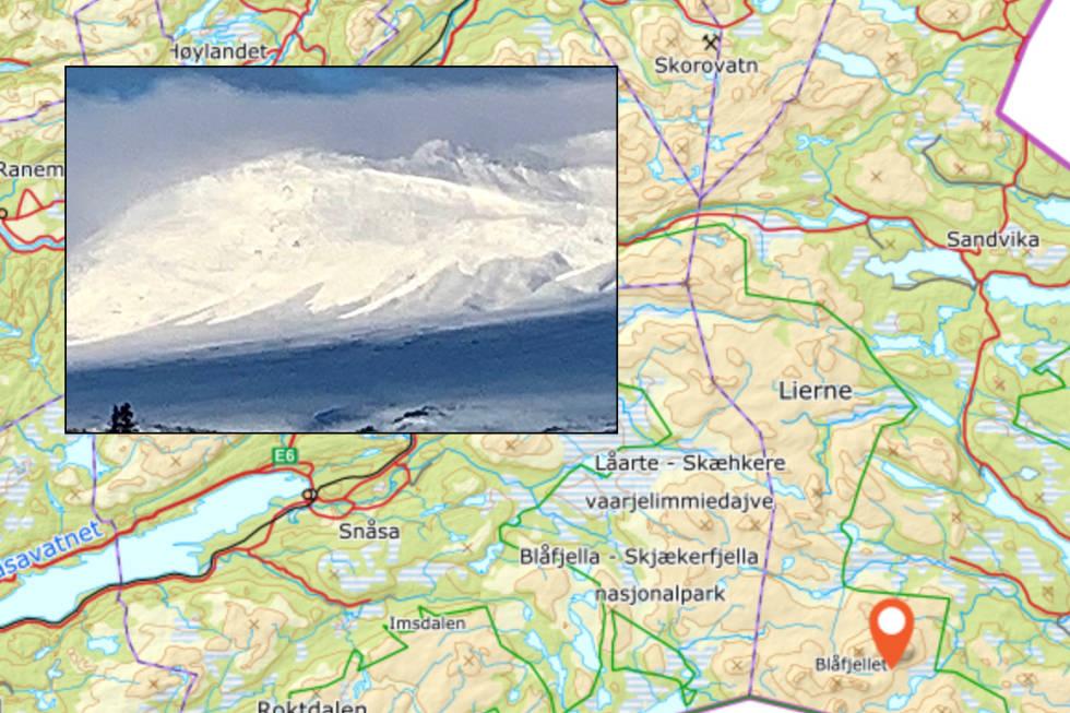 Snøskred Nord-Trøndelag
