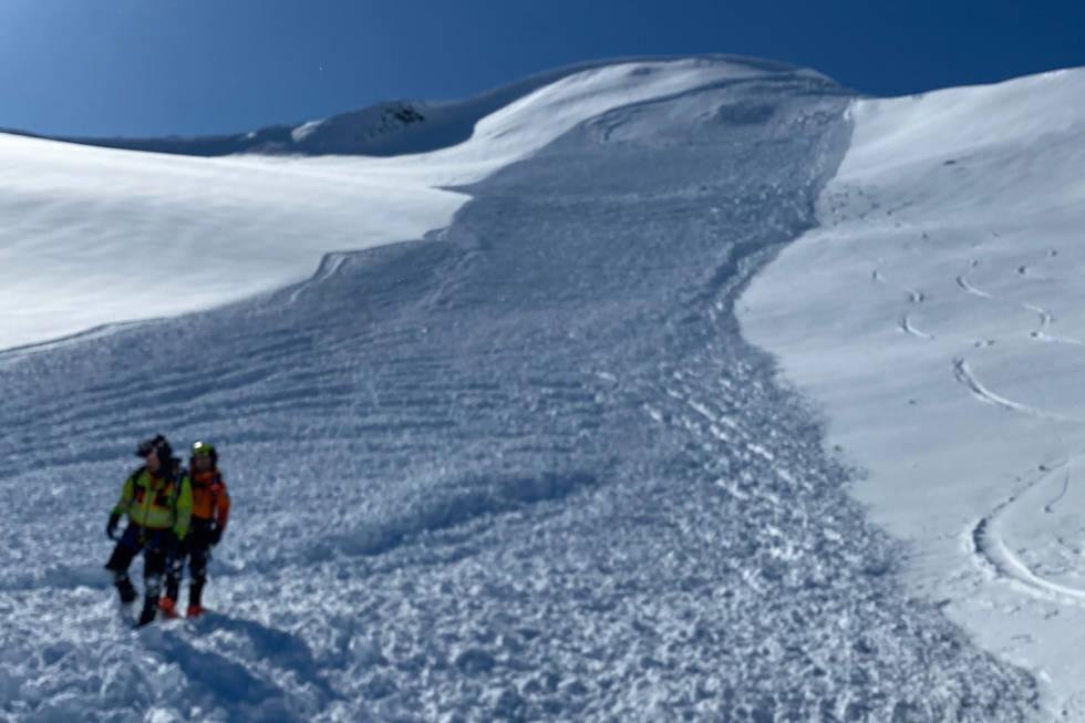 Snøskred Stardalen