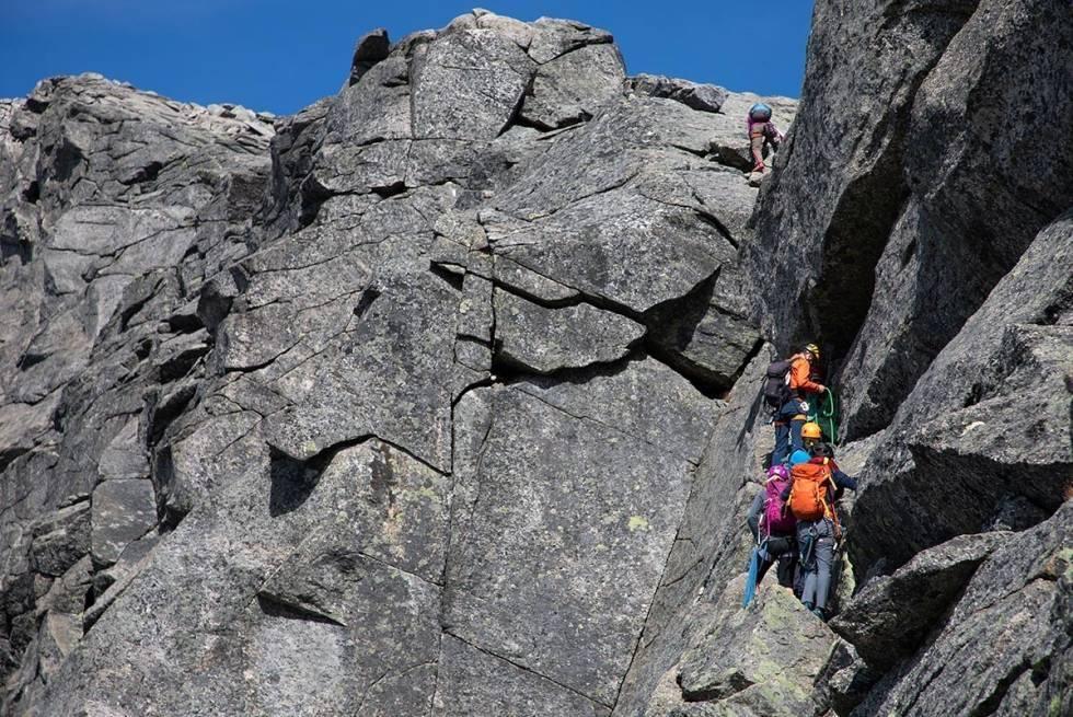 Stetind klatring