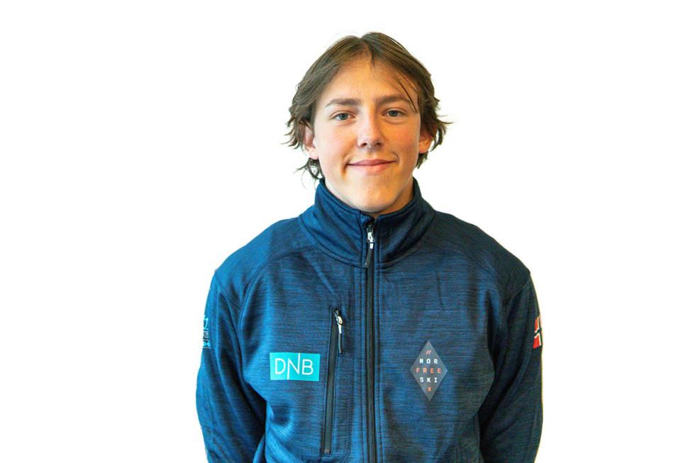 Tormod Frostad portrettbilde før ungdoms-OL