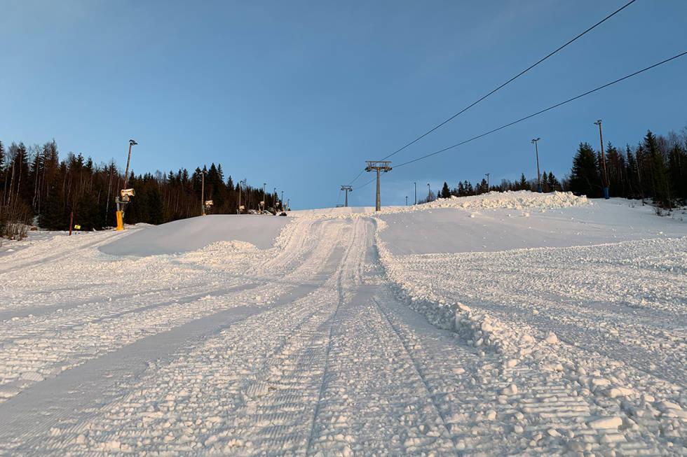 WYLLER: Slik så Wyllerløypa ut torsdag ettermiddag. Foto: Espen Bengston