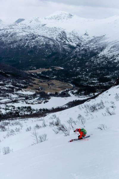 FAST FØRE:  …men fint i fjellet likevel. Foto: Martin Innerdal Dalen