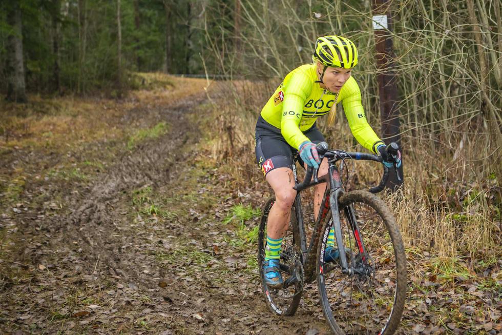 Ann Iren Bjørnarå vant soleklart i dameklassen. Foto: Pål Westgaard