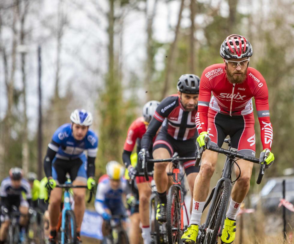 Morten Vaeng gikk hardt ut på andre runde og skaffet seg en luke. Foto: Pål Westgaard