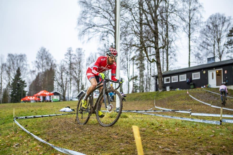Morten Vaeng vant med solid margin. Foto: Pål Westgaard
