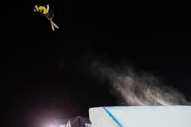SEIER: Vanvittig kjøring fra Birk Ruud ga gull i X Games natt til søndag. Foto: Tomas Zuccareno