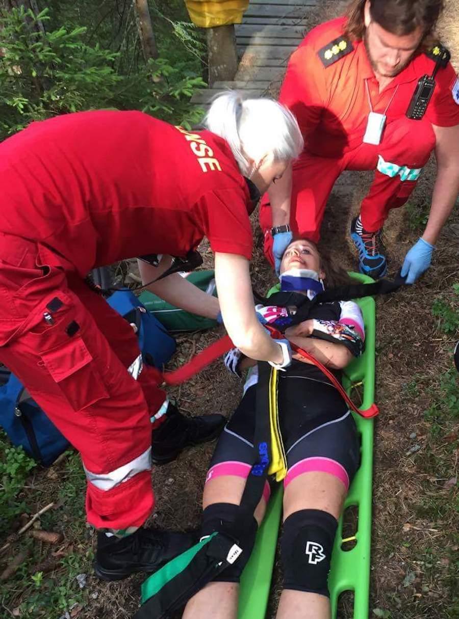Miriam Sivertsen - ulykke - Foto Privat 900x