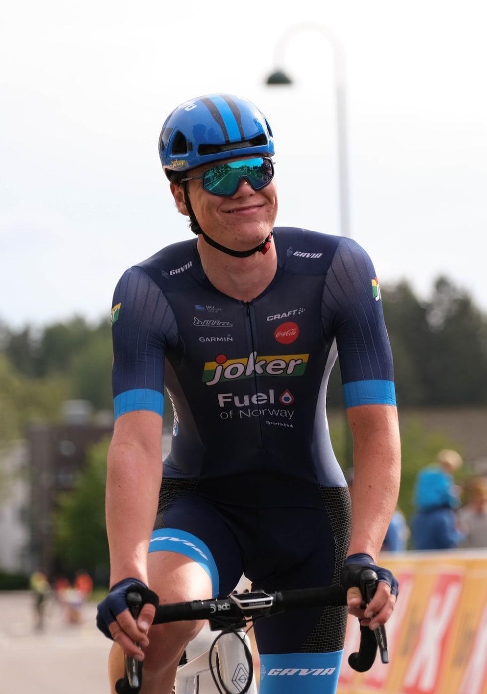 I MÅL: Førsteårssenior Søren Wærenskjold kom på 30.plass i U23-fellesstarten. Foto: Mikkel Skretteberg/sportsfoto.no