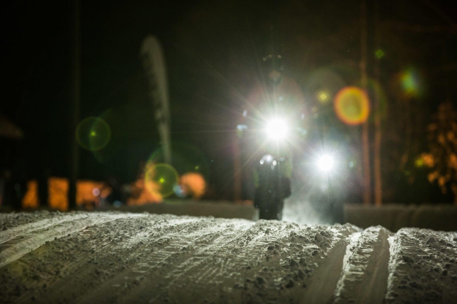 Snøen i løypa var for det meste så kald og pakket at veigrep i hvert fall ikke var utfordringen.