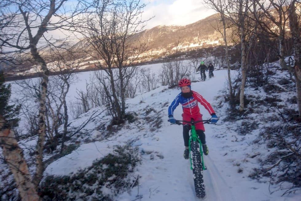 Vinterlys og fine forhold for lørdagens tur på Geilo. Foto: Nina Gässler