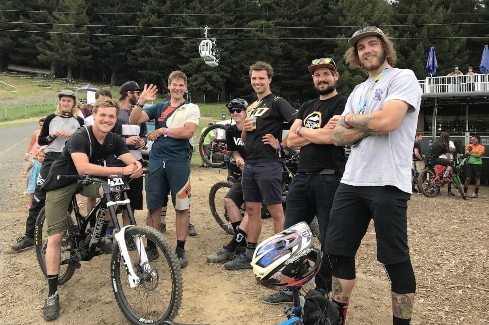 Crankworx Rotorua 2018 - Hilde Sangesland Strædet 1400x933