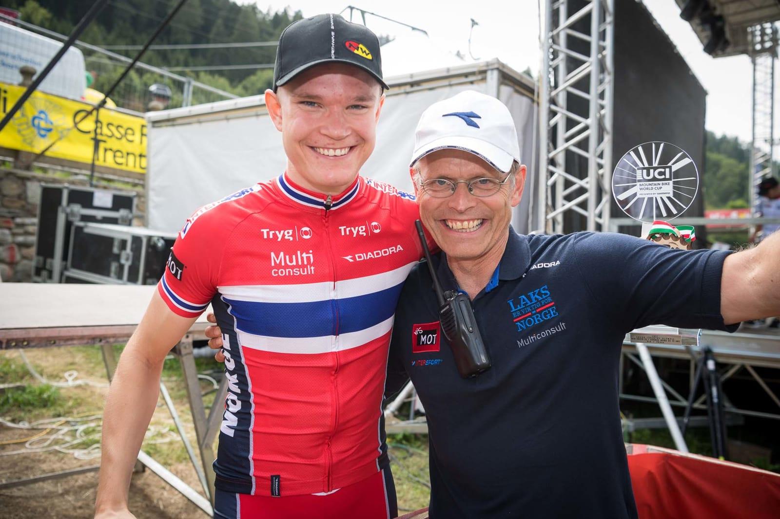 SUKSESS: Petter Fagerhaug har hatt en sterk sesong – nå venter nye utfordringer. Foto: EGO Promotion.