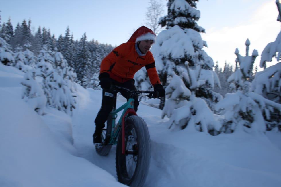 Det etappebaserte rittet Hjulefeit i Valdres er foreløpig terminlistas eneste enduroinspirerte tjukksykkelritt. Foto: Silje Vadla Ulberg