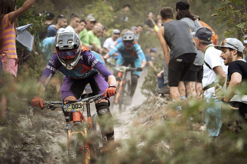 Fra 1. januar i år ble enduro formelt del av UCI, og sorterer under utfor. Foto: Enduro World Series
