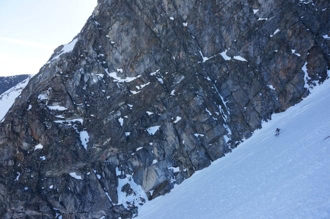KREVENDE: Bratt og temmelig hardt i toppartiet. Foto: Gjermund Nordskar