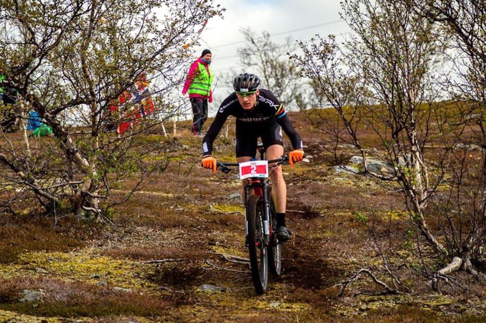 Lars Granberg er i form og vet hva som venter i Skaidi Xtreme. Han har vært på pallen flere ganger men aldri vunnet ekstremrittet i Finnmark. Foto: Ziggy Wantuch