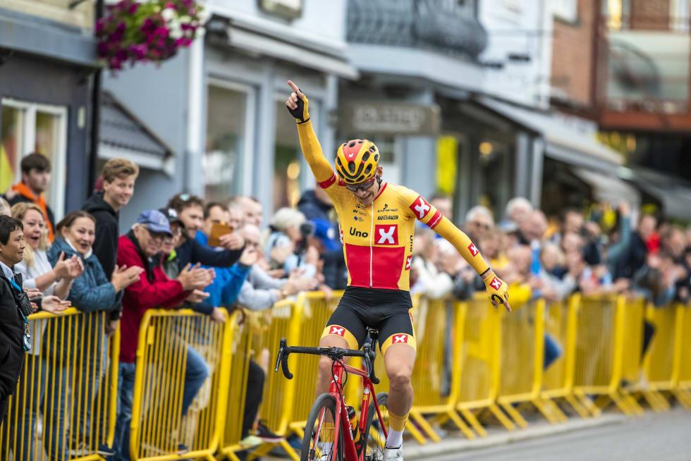 NM-GULL: Jonas Iversby Hvideberg tok seieren i seniorklassen. Foto: Pål Westgaard