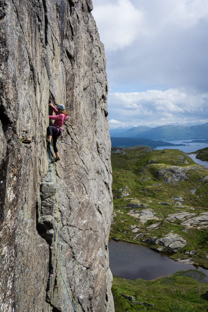 klatring ved kristiansund