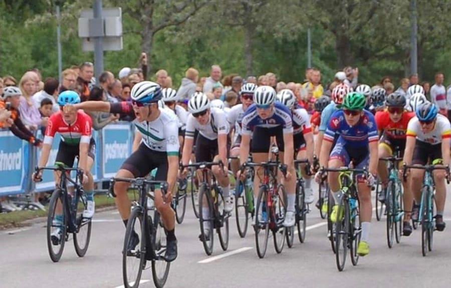 ETAPPESEIER: Tobias R. Nakken fra NCF Region Øst-NTG vant andre etappe av det seks dager lange U6-rittet i Sverige. Foto: NCF Region Øst-NTG