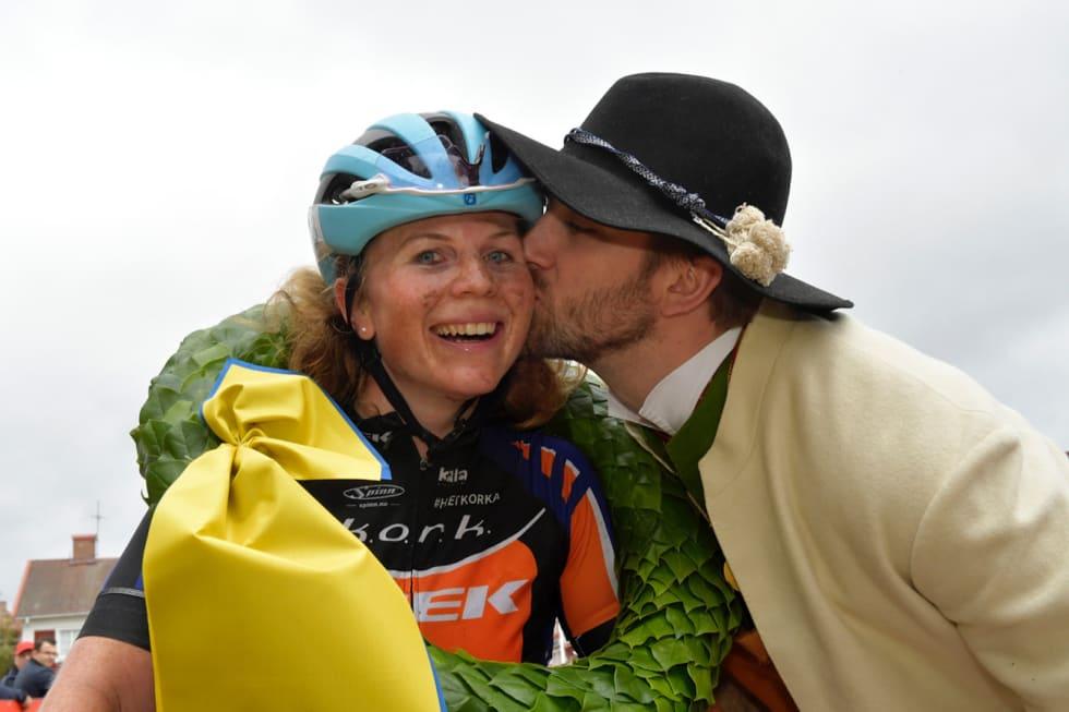 Elisabeth Sveum vant Cykelvasan for to uker siden. Foto: Nisse Schmidt