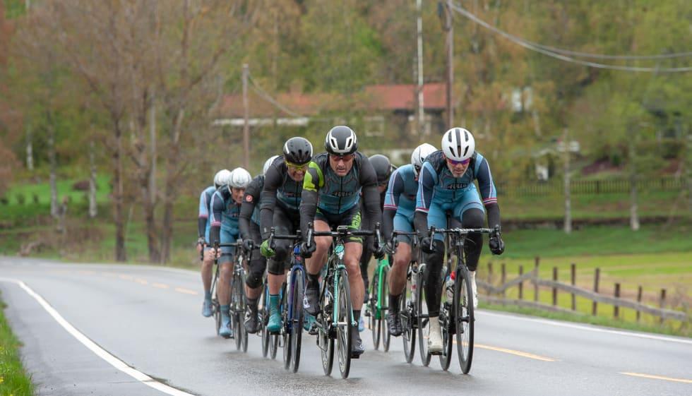 Team Follo sikret seg tredjeplassen i lagkonkurransen, selv om Nordmarka Rundt slett ikke var en del av oppkjøringsplanen.