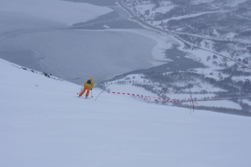 Litt utsikt nedover - Langfordrennet 2018 - Morten Fuggeli 1200x800