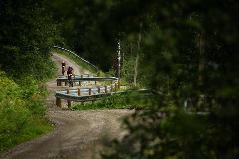 Mördarbakke: Bakken opp fra Kvam er beryktet for å være knallhard - og den kommer mot slutten av rittet. Foto: Kristoffer Kippernes