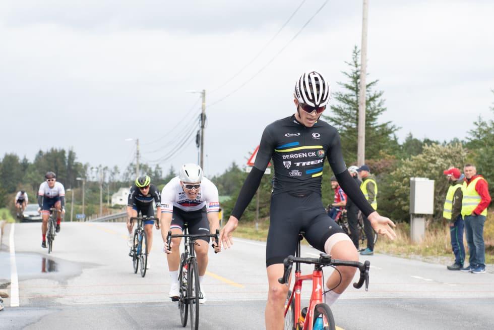 SEIER: Audun Gautestad vant Sturerittet. Foto: Cecilie Christensen