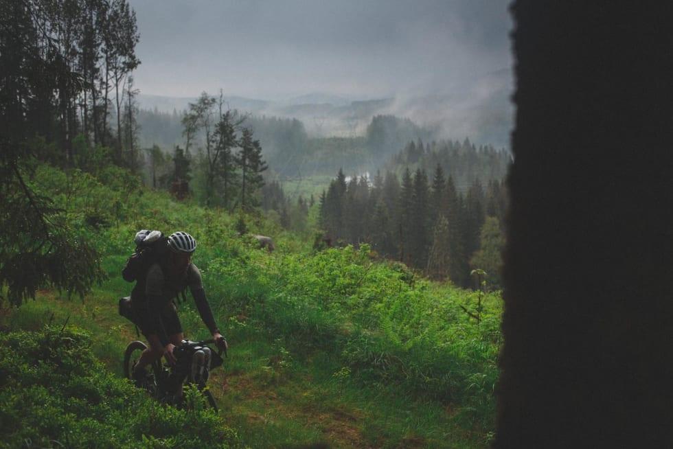 FINT: Å pakke sykkel og hengekøye er veldig bra i teorien, og ofte også i praksis.