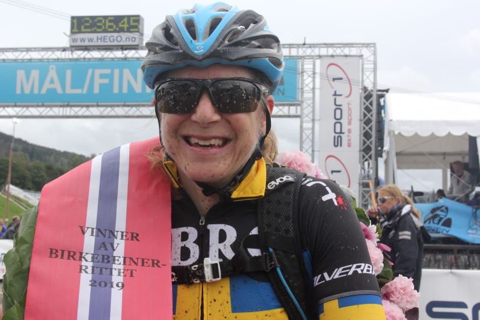 Jennie Stenerhag vant Birkebeinerrittet for andre gang, Foto: Ingeborg Scheve