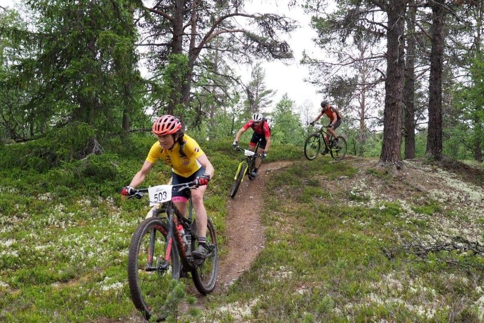 Sunniva Dring leder Norgescupen med 900 poeng i forkant av siste runde i Norgescupen. Foto: Trans-Østerdalen