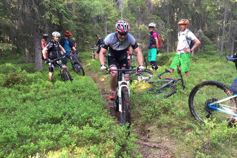 Trail group - Asgeir Linberg