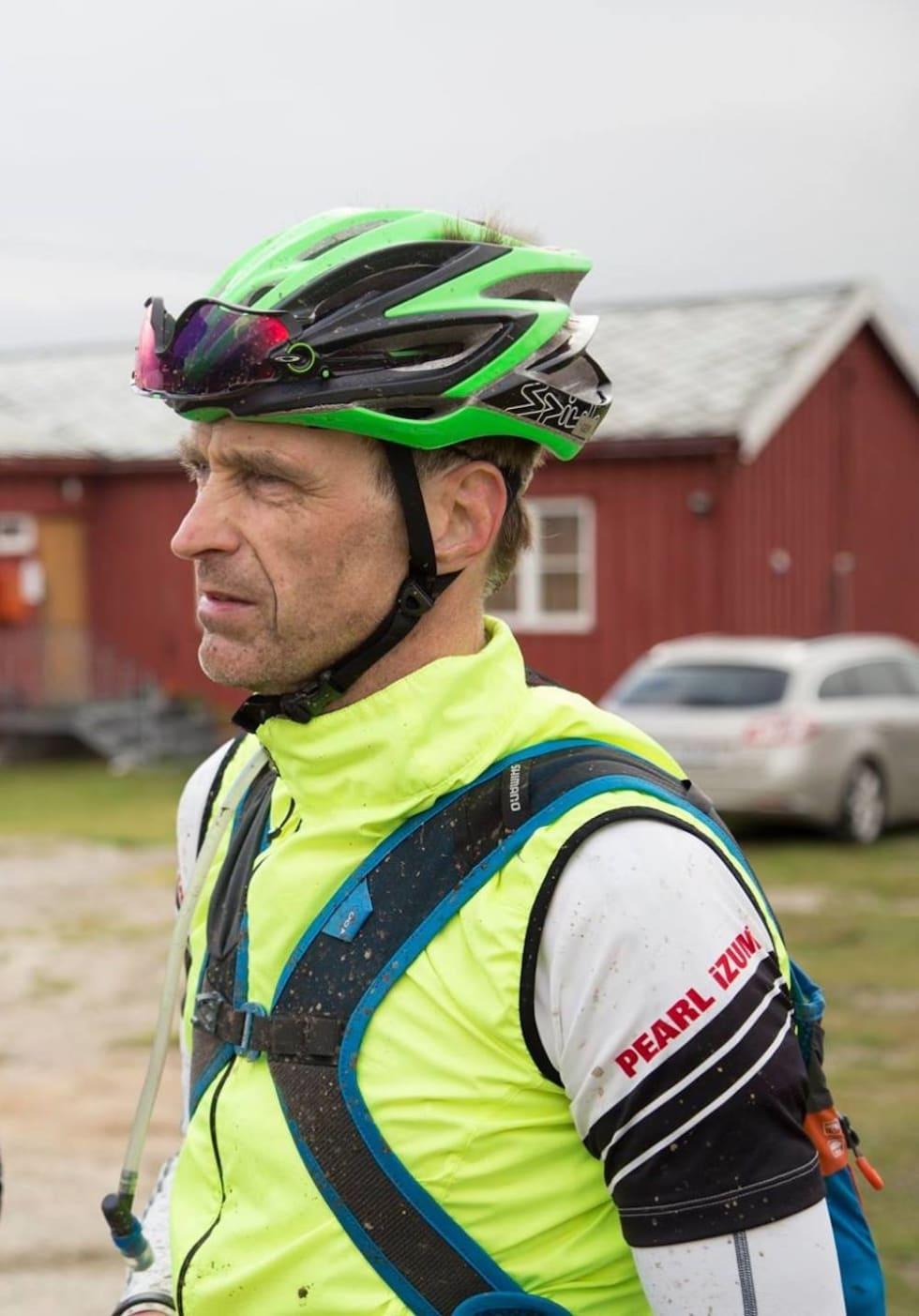 Geir Lien må finne seg i favorittstempelet i OF700 solo. Foto: Claus Jørstad