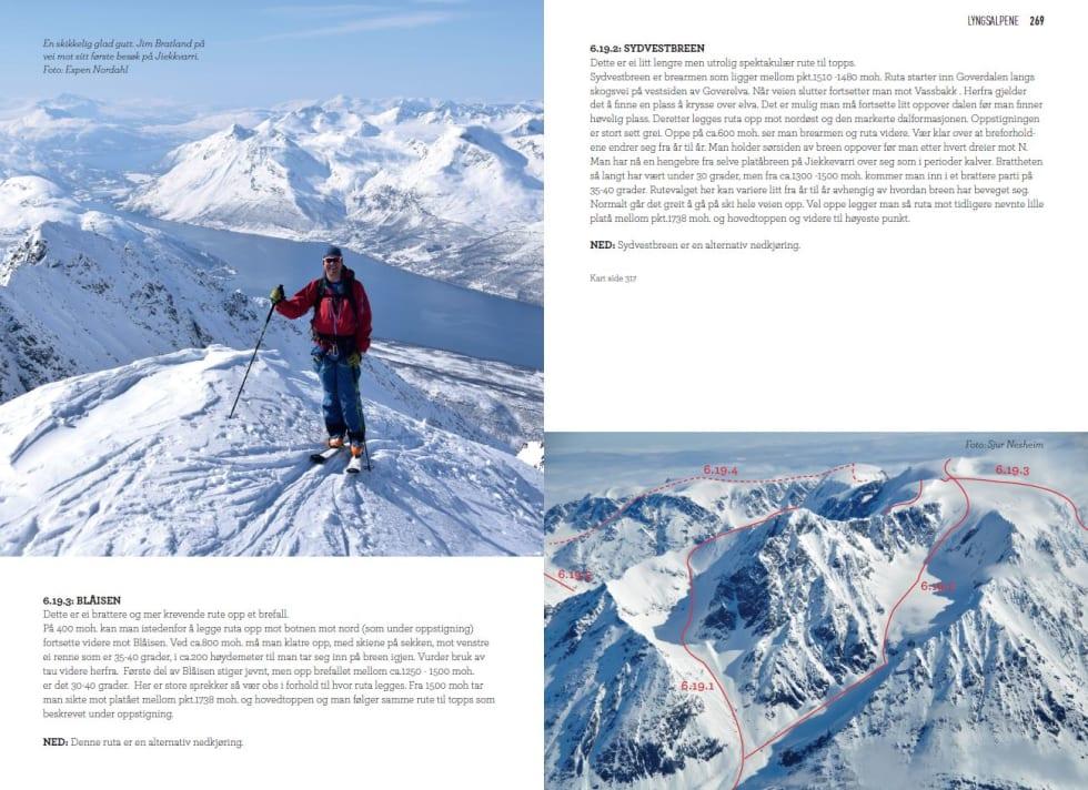Toppturer i Troms - Jiekkvarri