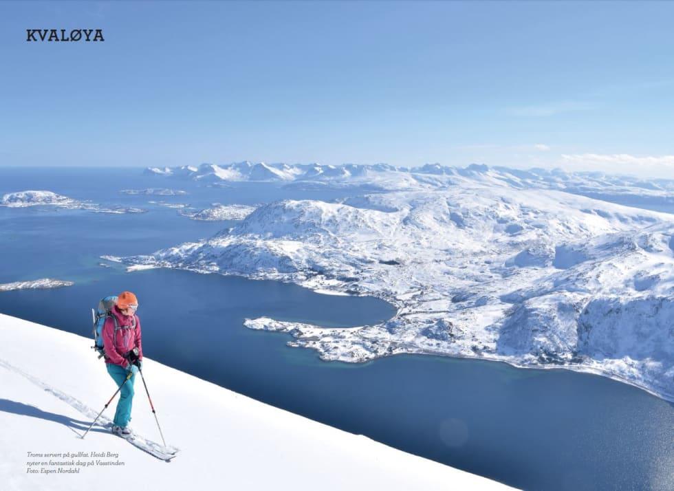 Toppturer i Troms - Kvaløya