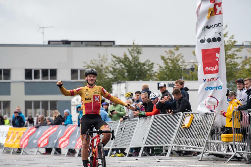 Til slutt vant Martin Bugge Urianstad med god margin. Foto: Cecilie Christensen