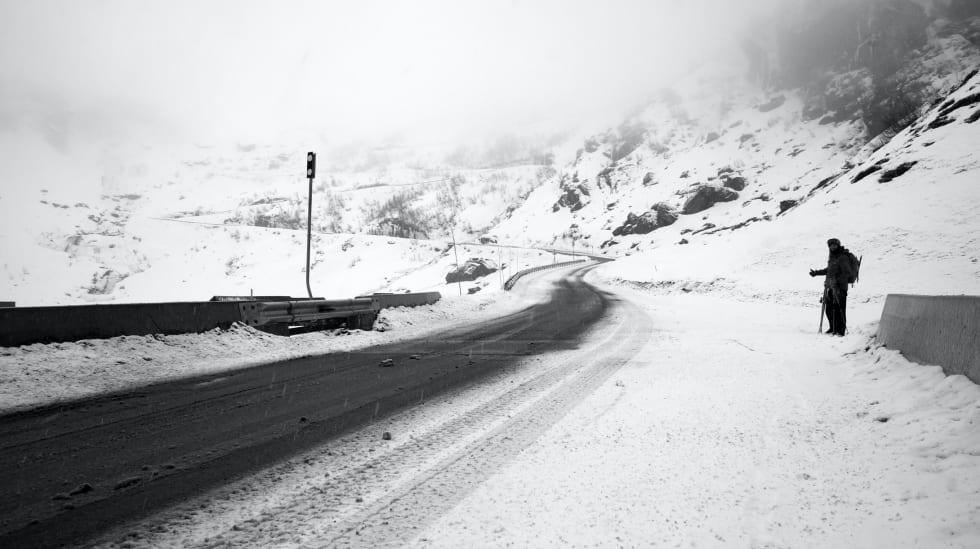 OPTIMIST: Martin Johannessen venter håpefullt på haik, tørr snø og den neste platen til Todd Terje.