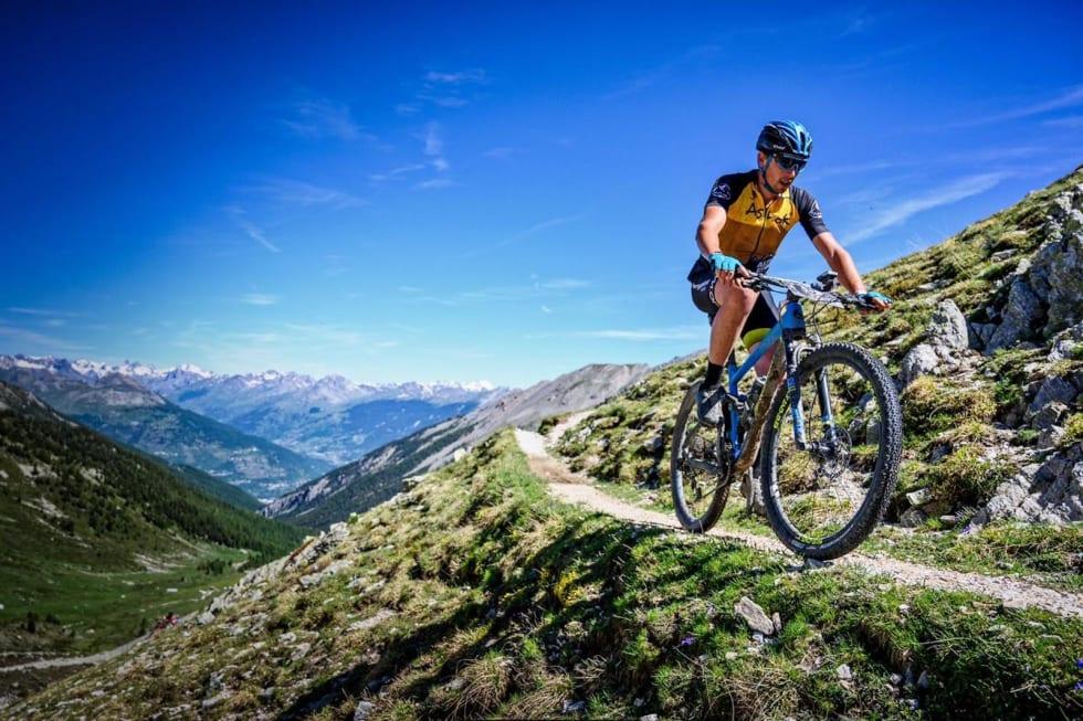 Utsiklten var det ikke noe å klage på. Foto: Remi Fabregue/Alps Epic