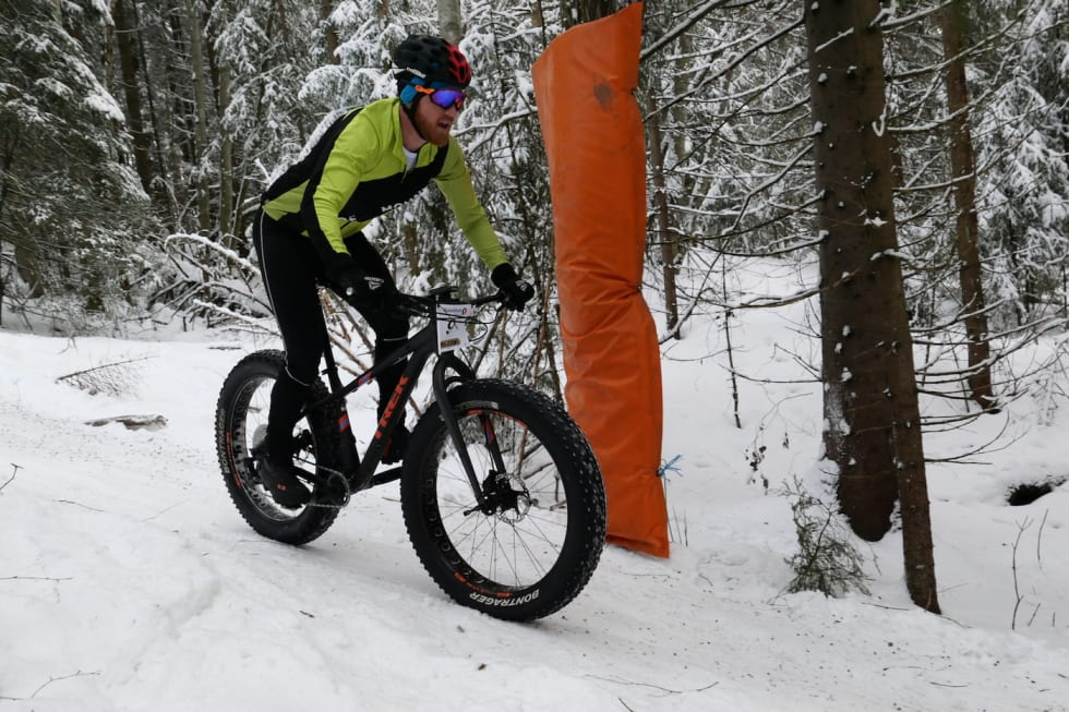 Full kontroll: Tor-Eivind Bjørnstad på vei mot femteplass. Foto: Stian Bergsveen